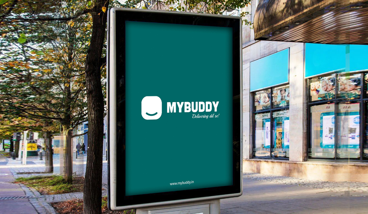 my buddy screen mockup design