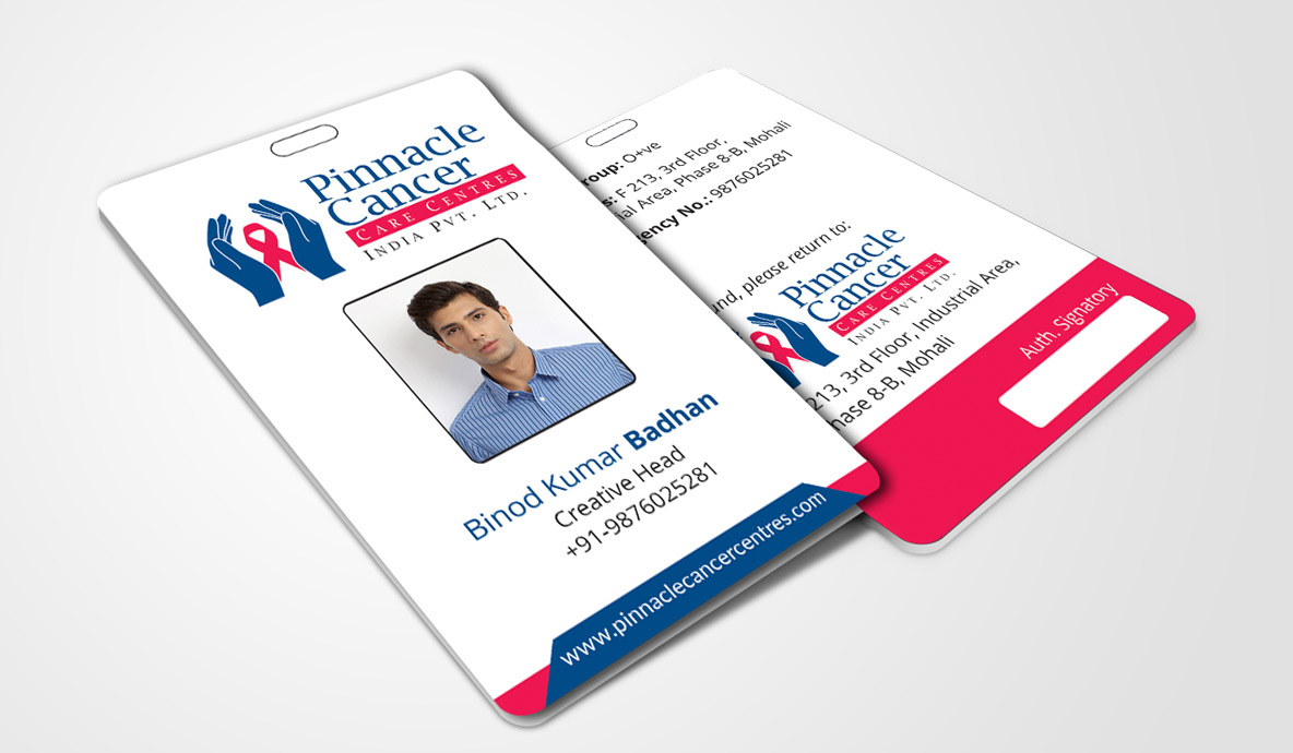 pinnacle id card design