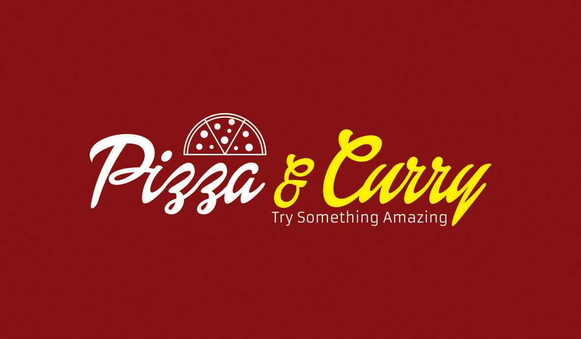 Pizza And Curry Tag Line
