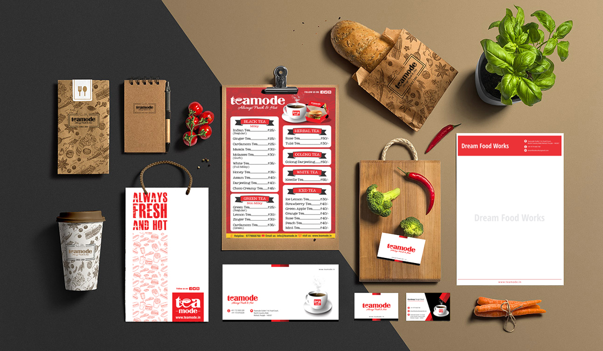 Teamode Brand Collateral Design