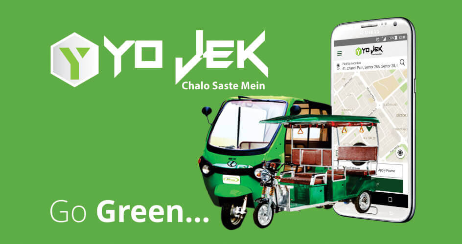 yojek website Design study