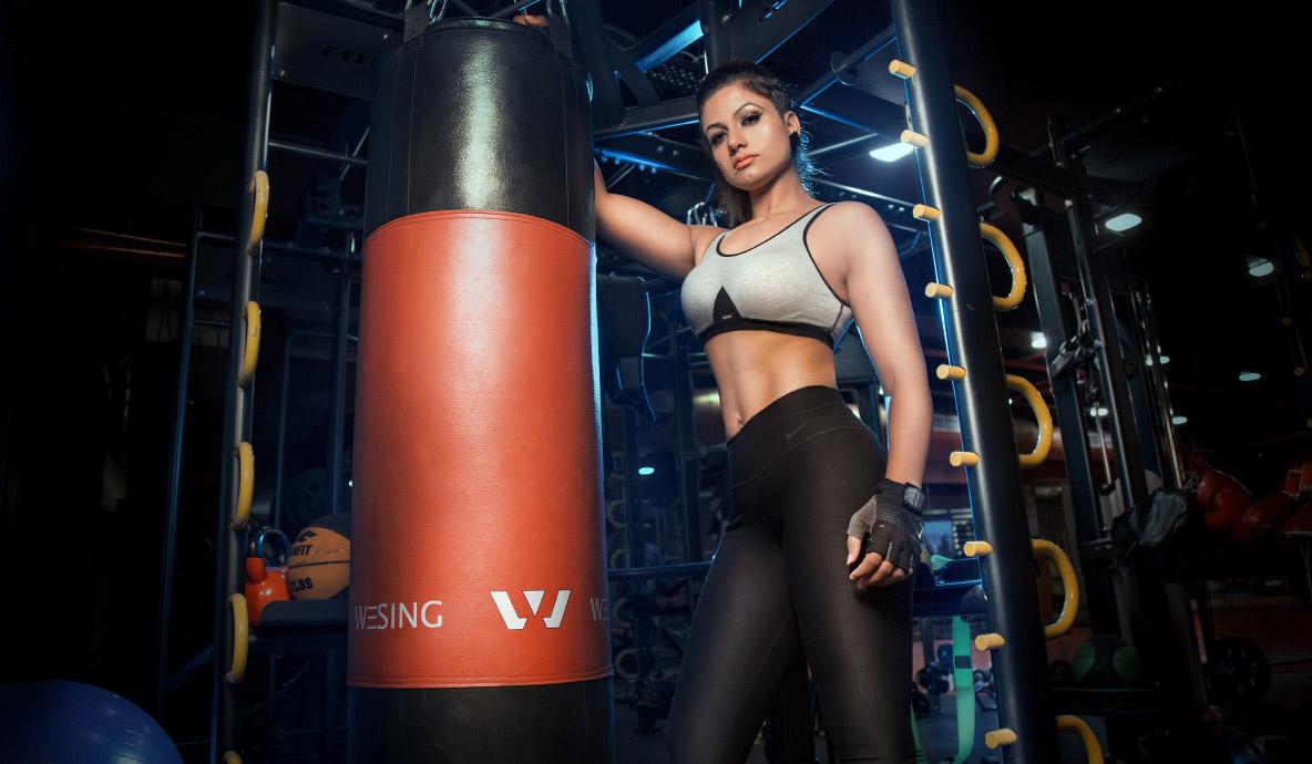 Gym Girl Photoshoot