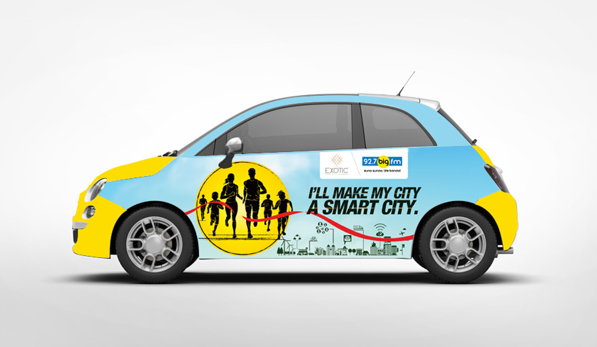 Big Chandigarh Marathon Outdoor Advertising