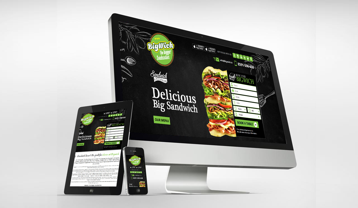 Bigwich Web Based App