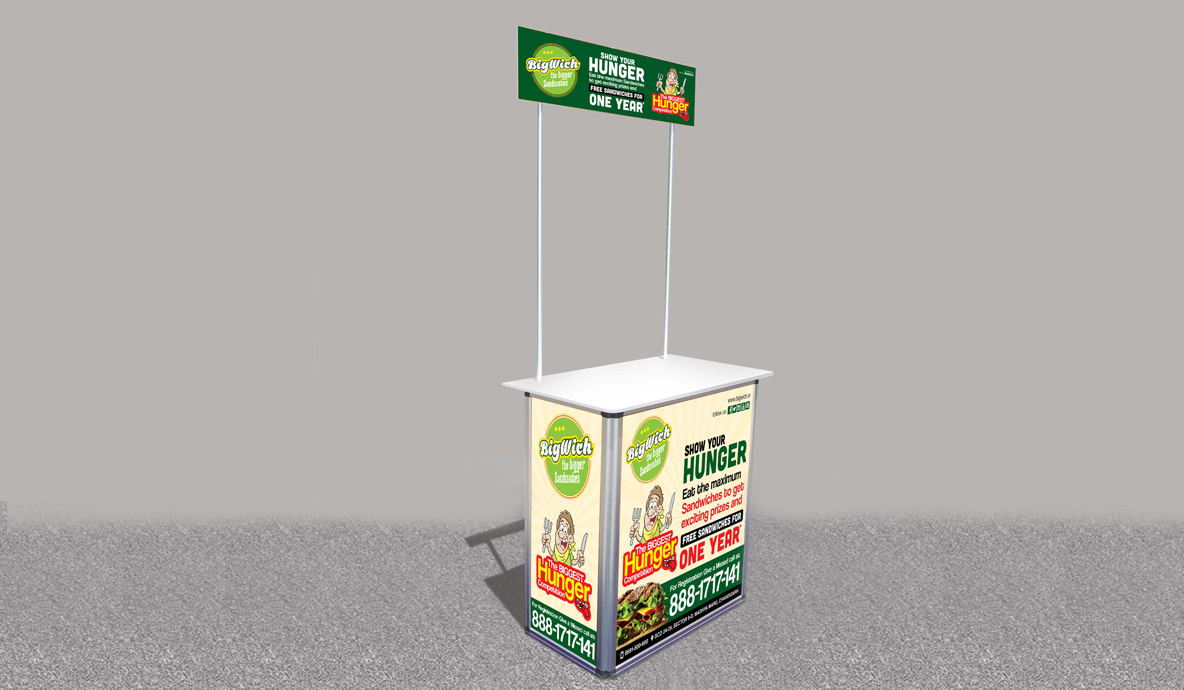 Bigwich Promotional Outdoor Advertising