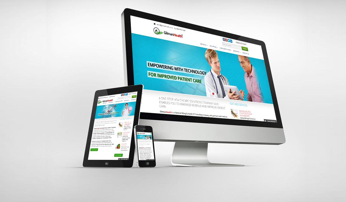 Giman Health Design Website