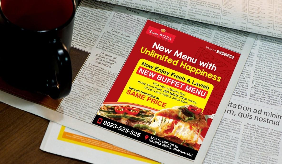 Pizza Prind Ad Campaign