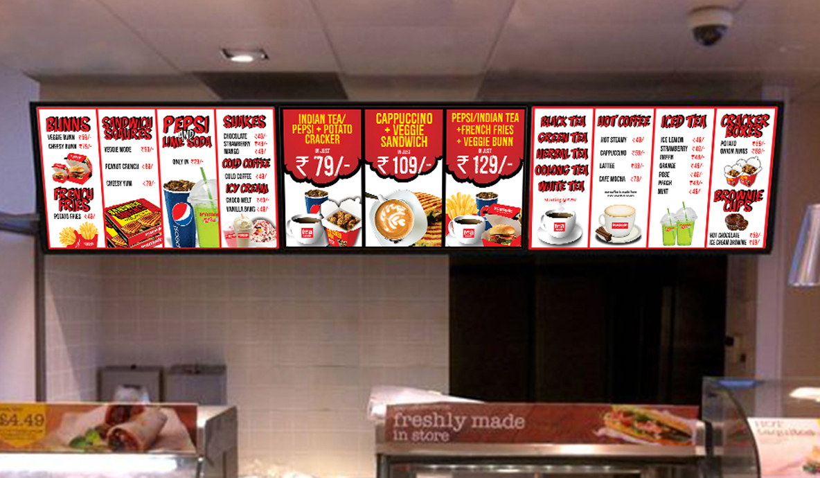 Teamode Menu Outdoor Advertising