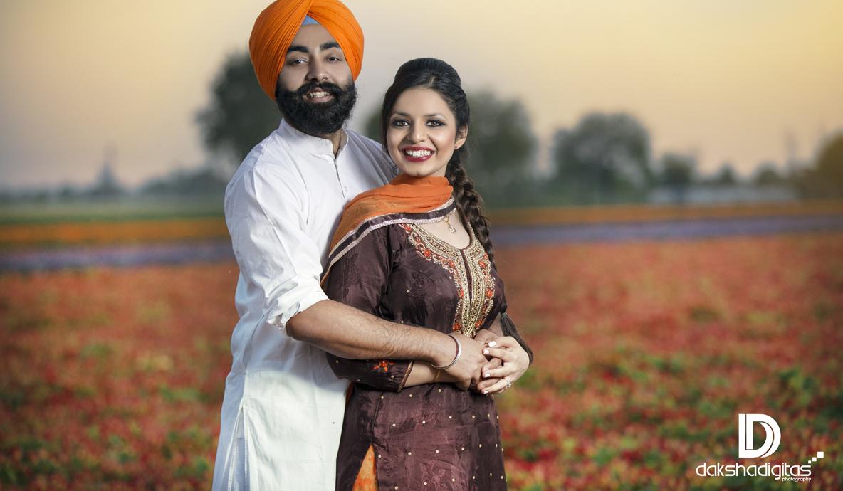 Newly Wedding Couple Photoshoot