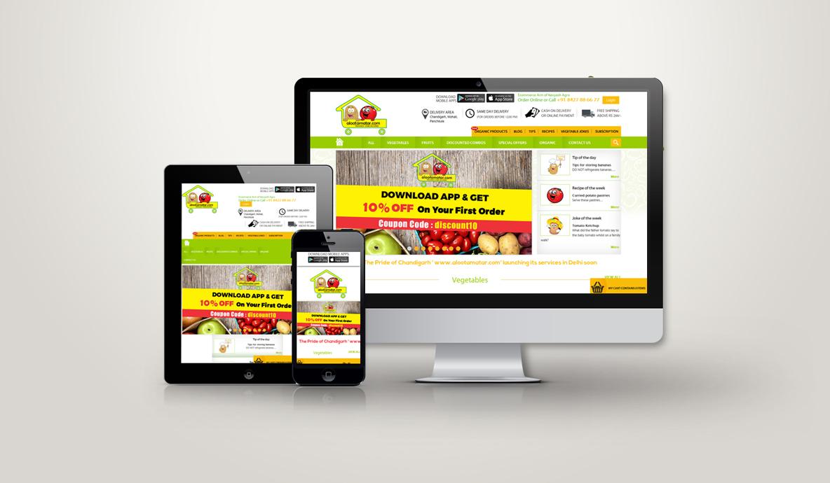 Big Chandigarh Marathon Website Design