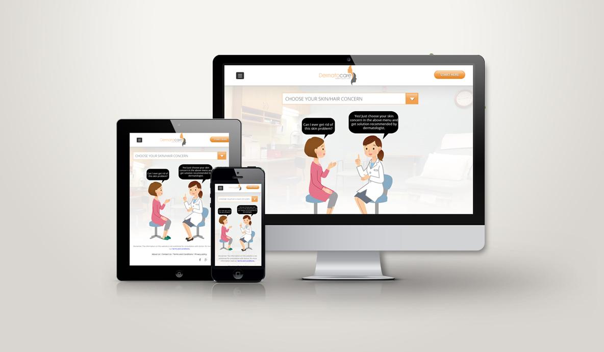 Demetrocare Website Design