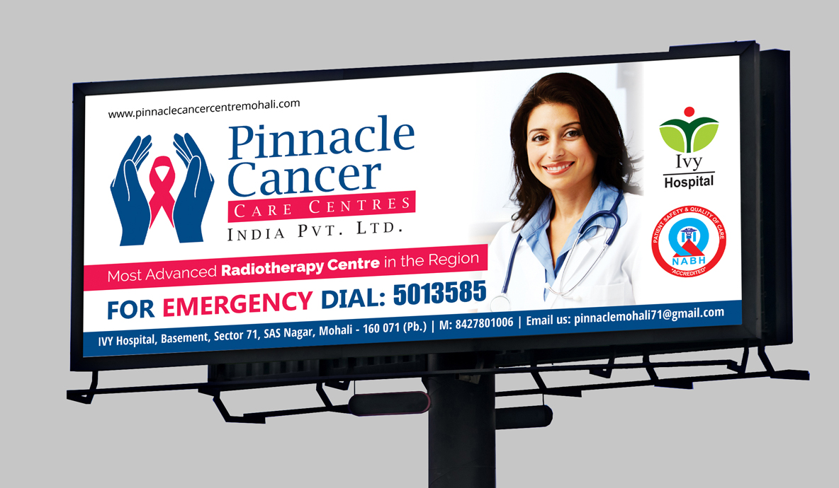 Pinnacle Cancer Outdoor Advertising