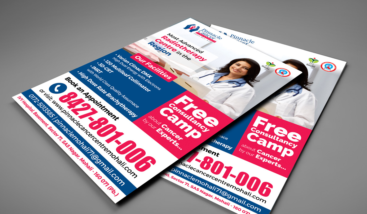 Pinnacle Mockup Flyer Designs