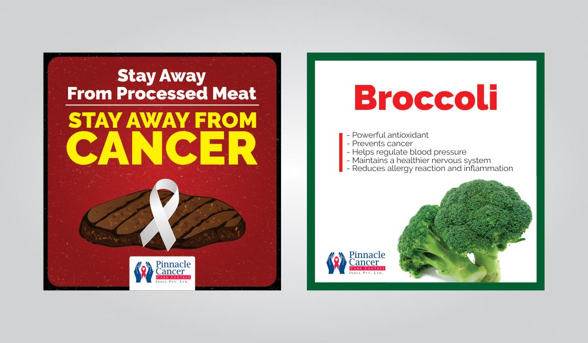 Pinnacle Cancer Social media Marketing