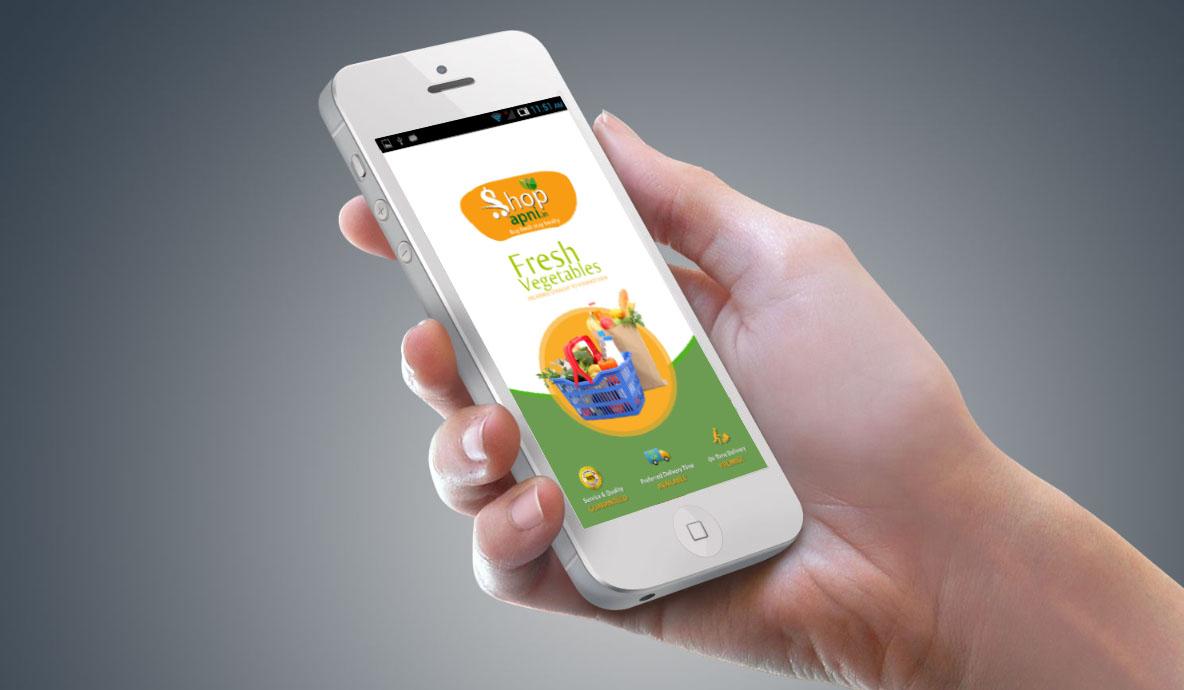 Fresh Vegetables App