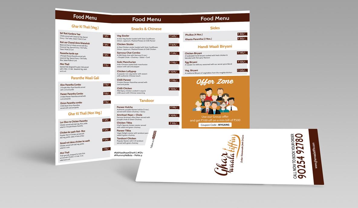 Trifold Mockup Brochure Design