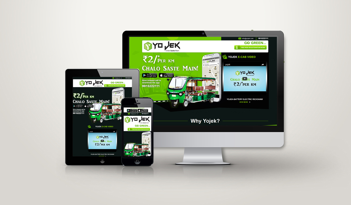 Yojek Small Business Website
