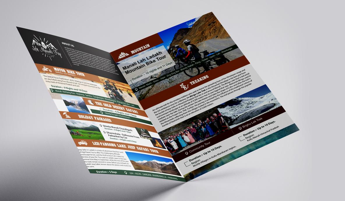 Leh Manali Trip Brochure