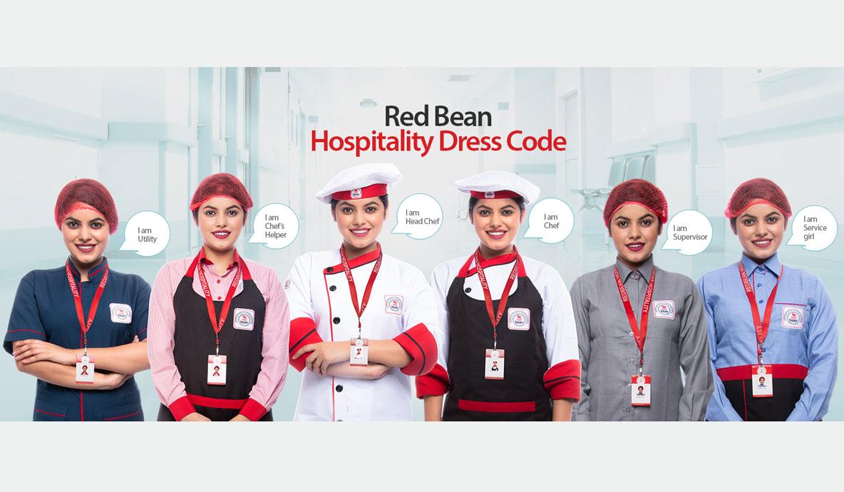 Red Bean Hospitality Dress Code