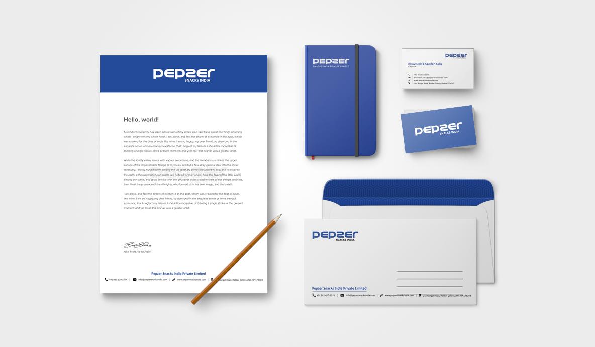 Corporate Pepzer Brand